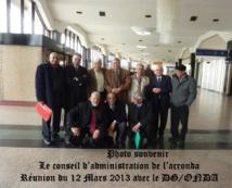 Réunion de l'ACRONDA avec Mr le Directeur Général de l'ONDA