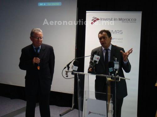 """Conférence de Mr Ahmed Reda Chami: """"Le Maroc plateforme aéronautique pour l'Europe"""""""