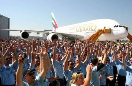 Emirates reçoit son premier A380