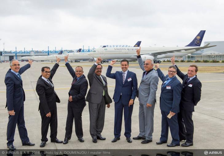 Airbus délivre son premier avion A330-300 Regional à Saudi Arabian Airlines