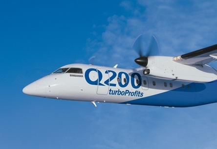 Tassili Airlines reçoit son nouvel avion Q200 de Bombardier