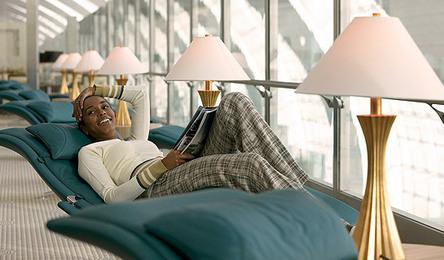 First class Lounge - Ph. Emirates