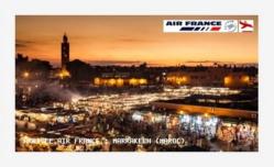 Air France reprend la liaison Paris-Marrakech à partir de Mars 2016