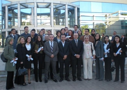 Photo promo IAC2 en compagnie de Mr Benallou (Cliquez pour agrandir)