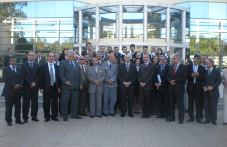 Les cadres de l'ONDA présents à la céremonie de remise des diplômes (Cliquez pour agrandir)