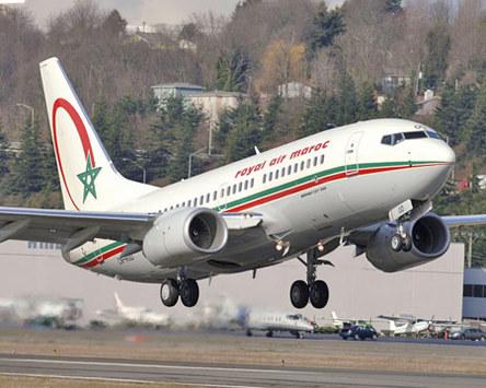 B737-700 livré en 2006 à RAM - Ph. Boeing