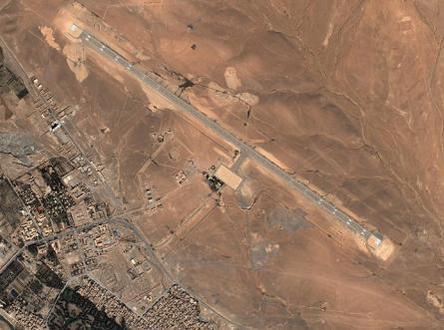 Aéroport d'Errachidia - Google earth