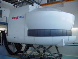 un nouveau simulateur de vol d 39 a320 de thales en tunisie. Black Bedroom Furniture Sets. Home Design Ideas