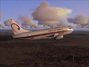 Le moteur d'un B737 de Royal Air Maroc prend feu