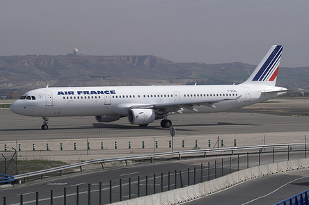 Atterrissage d'urgence d'un A321 d'Air France à Tunis