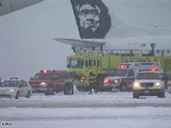 Alaska Airlines: Une fuite de liquide antigel irrite les yeux des passagers