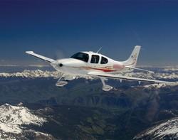 Un avion Cirrus SR22