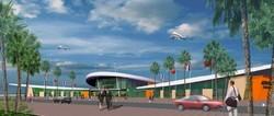Illustration du futur aéroport Oujda-Angad - Ph. ONDA