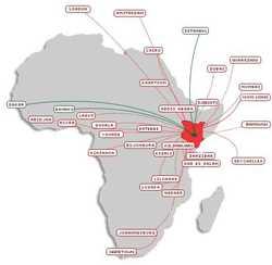 Kenya Airways lance un vol direct vers la capitale centrafricaine