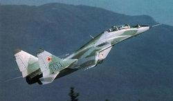Crash d'un MIG29 en Algérie, le pilote porté disparu