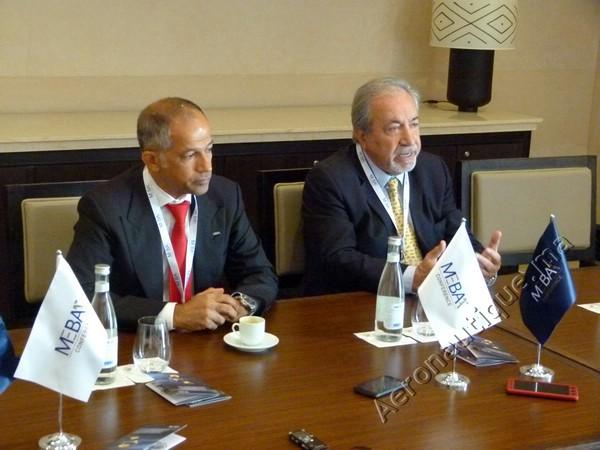 Ali Alnaqbi (président MEBAA) et Samir Abdul-Ahad (Security Global Limited)