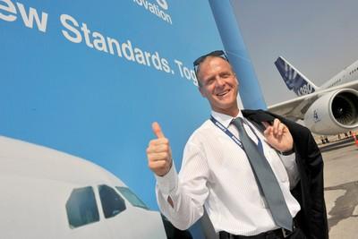 PDG d'Airbus Tom Enders - Ph. Airbus
