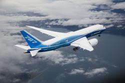 Premier vol du Boeing 787 Dreamliner dans le ciel de Seattle