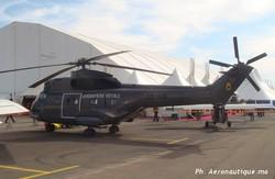Un hélicoptère de la gendarmerie Royale - AeroExpo Marrakech 2008