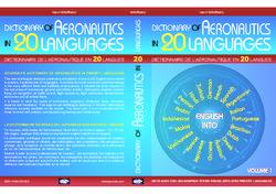 """Parution en deux tomes du """"Dictionnaire de l'Aéronautique en 20 Langues"""""""