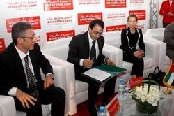 Lors du lancement officiel de Air Arabia Maroc en Avril 2009