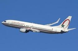 Casablanca-New York: Fumée sur les trains d'atterrissage d'un avion de RAM