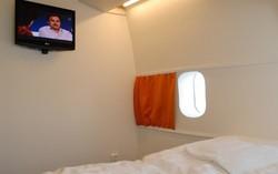Un Boeing 747 transformé en hotel affiche complet depuis son ouverture