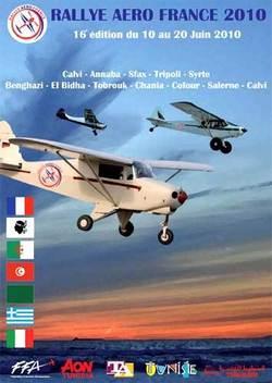 ''Rallye Aéro France'' lance la 16ème édition de son Rallye vers la Tunisie du 10 au 20 juin 2010