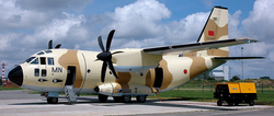 Le premier C-27J Spartan immatriculé sous CN-AMN