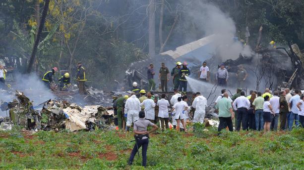 Trois survivantes après le crash d'un B737 au décollage de la Havane