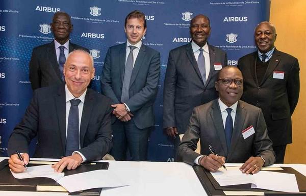 Airbus signe un partenariat avec le gouvernement de Côte d'Ivoire