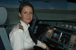 Etihad Airways a sa première femme commandant de bord