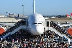Airbus organise une journée familles et amis de ses salariés à l'occasion de son 40ème anniversaire