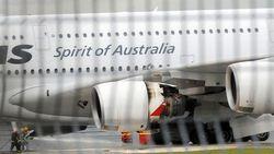 Qantas: Premier incident sérieux sur un A380