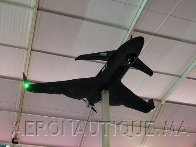 Marrakech Airshow 2018: BDA expose son projet MA-1 pour un drone marocain