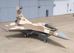 Premier F-16 aux couleurs des FRA