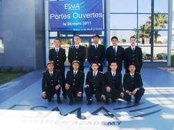 L'ESMA forme dix nouveaux cadets chinois