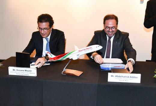 Royal Air Maroc réceptionne à Seattle son nouveau Boeing 787-9 Dreamliner