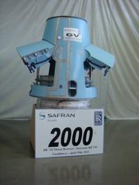 2000ième inverseur de poussée BR710 - Ph. Aeronautique.ma