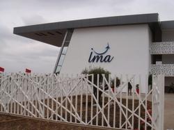 Inauguration de l'institut des métiers de l'aéronautique IMA à Casablanca