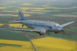 Un DC3 d'Air France reprend la route vers Dakar