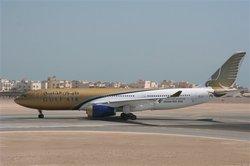Sept bléssés après la sortie de piste d'un avion de Gulf Air