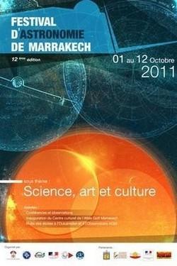 Science, art et culture: Thème de la 12ème édition du Festival d'astronomie de Marrakech