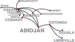 Reprise des vols de Senegal Airlines sur Conakry