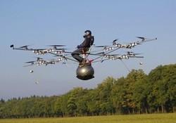 E-volo: une machine volante personnelle conçue en allemagne (Vidéo)