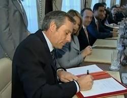 Le PDG de Bombardier Aéronautique Guy Hachey en visite au Maroc