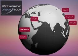 Le 787 Dreamliner commence sa tournée mondiale depuis la Chine