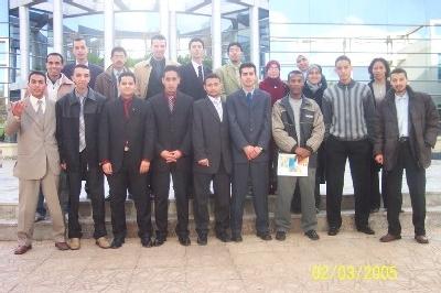 4eme promotion des ESA laureat de l'academie internationale mohammed VI de l'aviation Civile