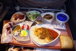 Turkish Airlines sert les meilleurs plateaux repas à bord d'un avion