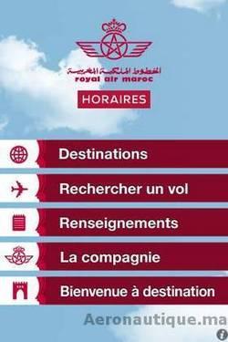 Royal Air Maroc est sur l'App Store
